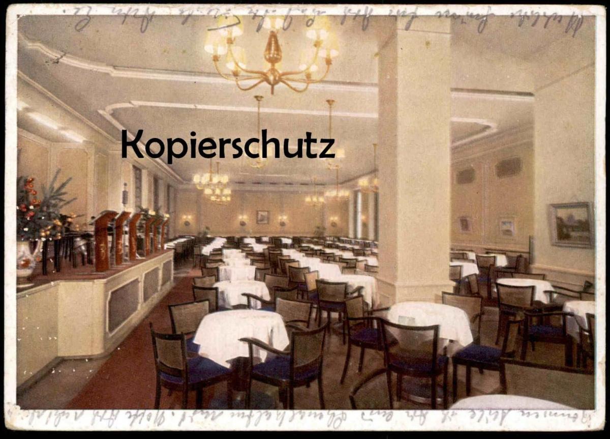 ALTE POSTKARTE MÜNSTER ROXEL IN WESTFALEN MUSIKRAUM HOTEL WESTFÄLISCHER HOF Ansichtskarte cpa postcard AK 0