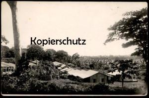 ALTE POSTKARTE VILLAGE TONKINOISE CAMP I TONKIN VIETNAM INDOCHIN Ansichtskarte AK cpa postcard