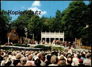 ÄLTERE POSTKARTE TECKLENBURG FREILICHTBÜHNE Theater Festspiele Kostüme costumes Freilichtspiele Ansichtskarte postcard