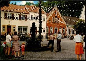 ÄLTERE POSTKARTE TECKLENBURG MARKTPLATZ Familie mit Kind family Ansichtskarte postcard AK cpa