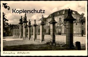 ALTE POSTKARTE LUDWIGSBURG SCHLOSSPARTIE SCHLOSS chateau castle Feldpost 1942 cpa Ansichtskarte postcard AK