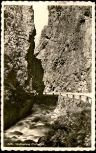 ALTE POSTKARTE SCHWARZWALD BEIM HIRSCHSPRUNG HÖLLENTAL Buchenbach Hinterzarten Black Forest Foret-Noire
