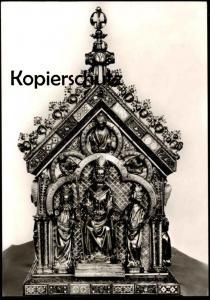 ÄLTERE POSTKARTE KAISERSWERTH SUITBERTUS SCHREIN AUS DEM 14. JAHRHUNDERT holy shrine coffret cpa postcard Ansichtskarte