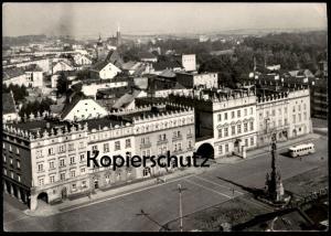 ÄLTERE POSTKARTE RACIBORZ WIDOK OGOLNY Bus Polen Polska 1973 Ansichtskarte AK cpa postcard