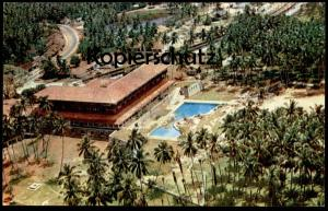 ÄLTERE POSTKARTE CEYLON AERIAL VIEW OF THE CENTRAL WING OF THE BENTOTA BEACH HOTEL SRI LANKA Ansichtskarte cpa postcard