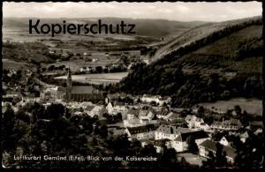 ÄLTERE POSTKARTE LUFTKURORT GEMÜND BLICK VON DER KAISEREICHE 1965 EIFEL Totalansicht Panorama cpa postcard Ansichtskarte