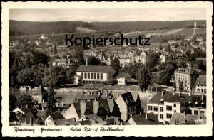 ÄLTERE POSTKARTE KONSTANZ STÄDTISCHES KUR- UND HALLENBAD BODENSEE Bad Schwimmbad Ansichtskarte cpa postcard AK