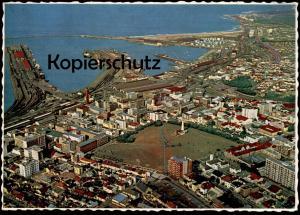 ÄLTERE POSTKARTE PORT ELIZABETH WATERFRONT Hafen Eisenbahn Südafrika Afrika africa south africa postcard Ansichtskarte