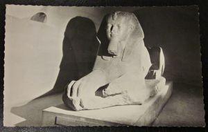 Alte Ansichtskarte Sphinx Amenemhet II. Antik Altägyptischer König Pharao