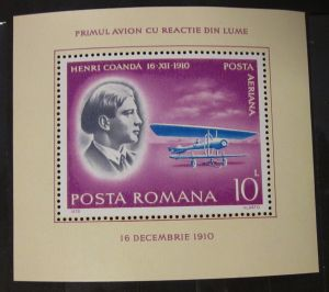 Briefmarken Pioniere der Luftfahrt Rumänien 1978 Ungebraucht Gummiert .
