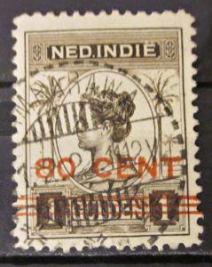 Briefmarken Ned Indien Niederlande Kolonien mit Aufdruck