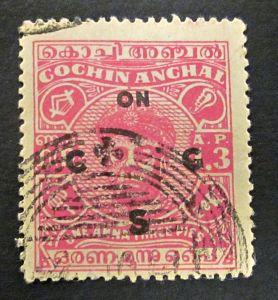 Briefmarken Asien Indien COCHIN - Maharadjah Ravi Varma I 1946