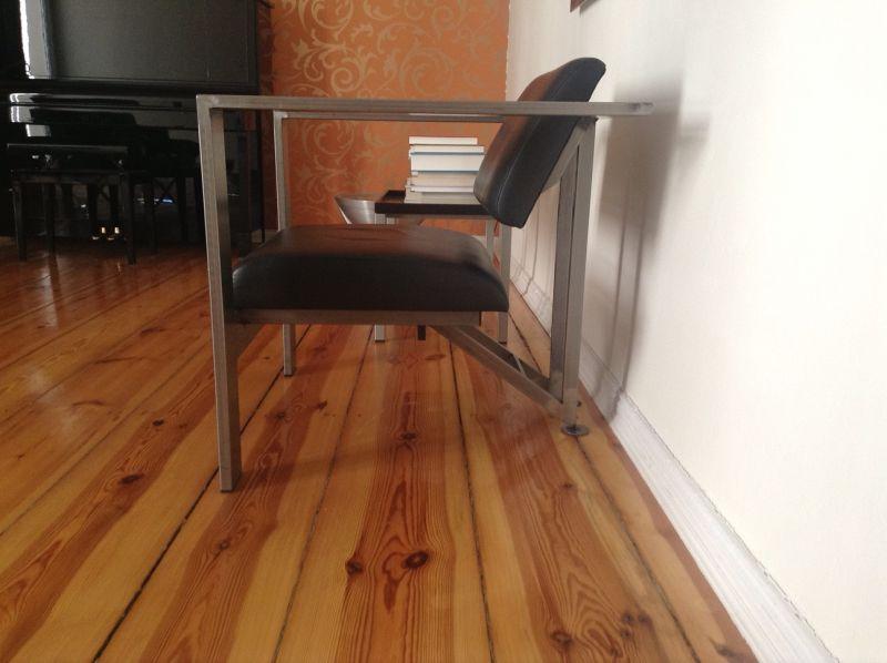 90er stahlm bel. Black Bedroom Furniture Sets. Home Design Ideas