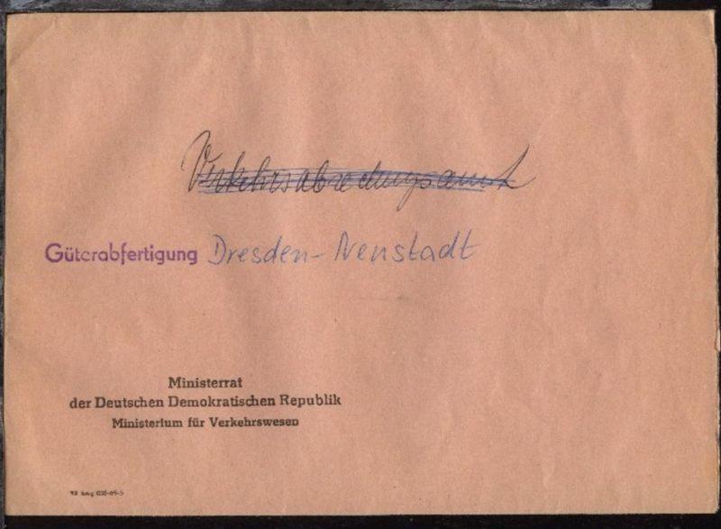 EDS-Bf. (Format C5) des Ministerrat der DDR Ministerium für Verkehrswesen