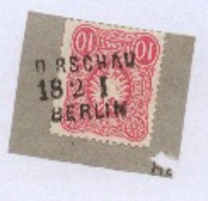 DIRSCHAU BERLIN 18.2.. I auf Bf.-Stück