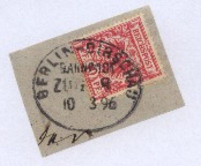 BERLIN-DIRSCHAU ZUG 8 10.3.96 auf Bf.-Stück