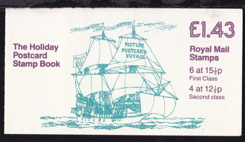 The Holiday Postcard Stamp Book