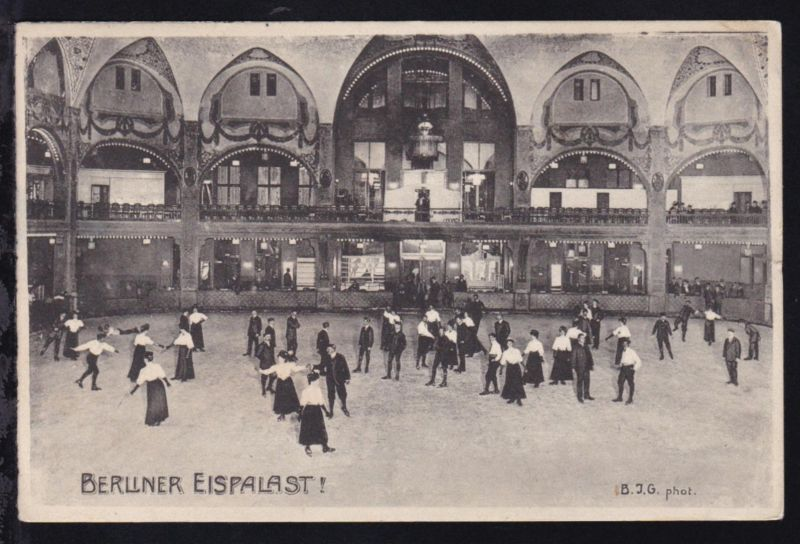 Berliner Eispalast, 1910