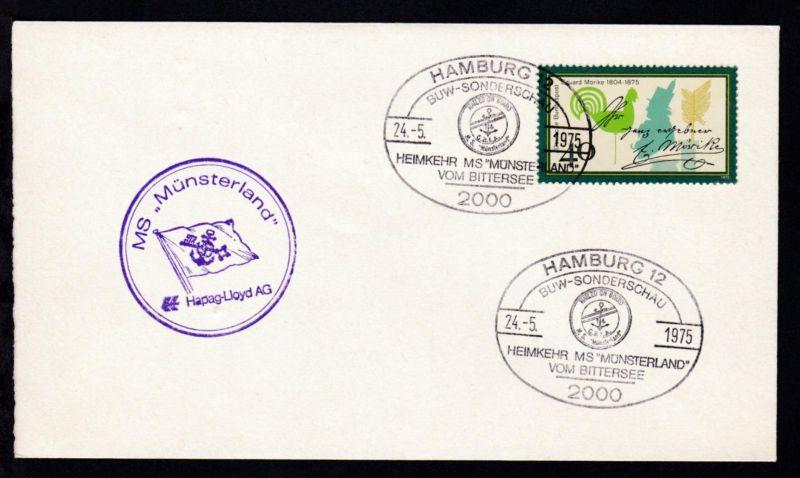 HAMBURG 12 2000 BUW-SONDERSCHAU HEIMKEHR MS