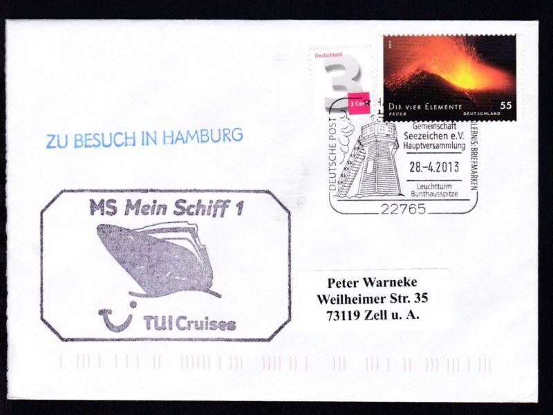 HAMBURG 22765 DEUTSCHE POST ERLEBNIS BRIEFMARKEN Interessen-Gemeinschaft