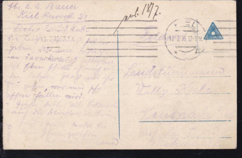 Torpedo kurz nach dem Verlassen des Lancierrohrs, 1916 1