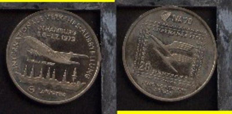 1979 Medaille zur IVA 79 Hamburg
