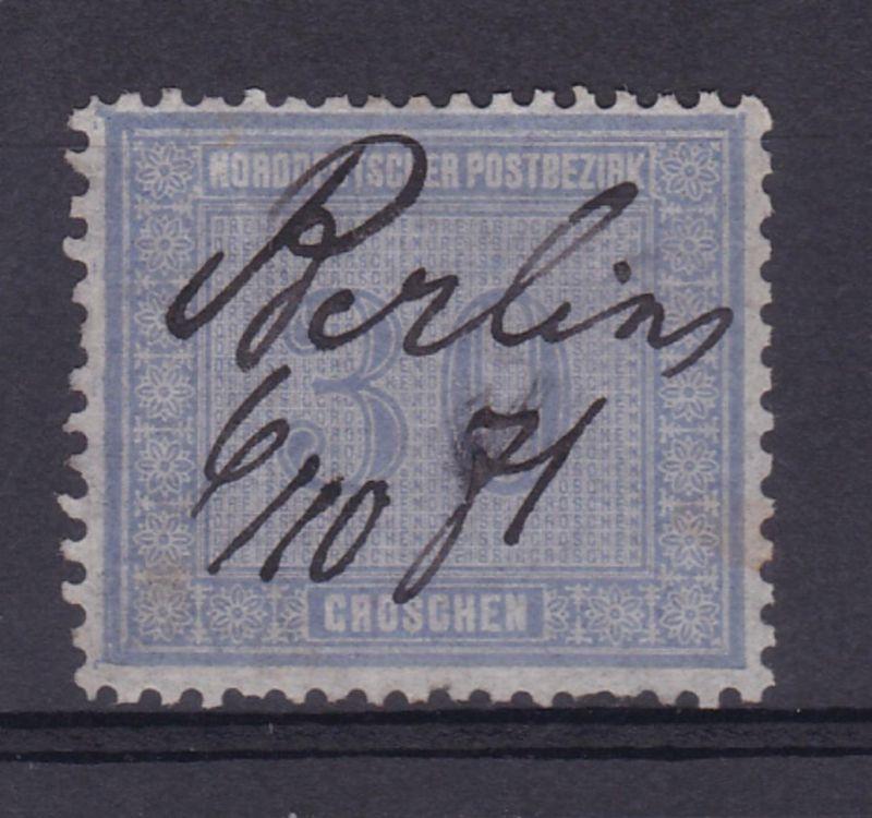 Innendienst 30 Gr. mit hs Entwertung Berlin 6.10.71