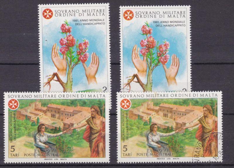 Malteserorden 1981 Weltjahr der Behinderten, ** + o