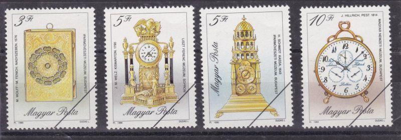Alte Uhren, Mustermarken mit Ankündigungsschreiben
