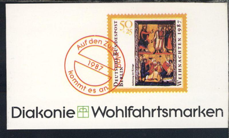 1984/90 15 Markenheftchen Wohlfahrt, Diakonie, Sport, Rotkreuz