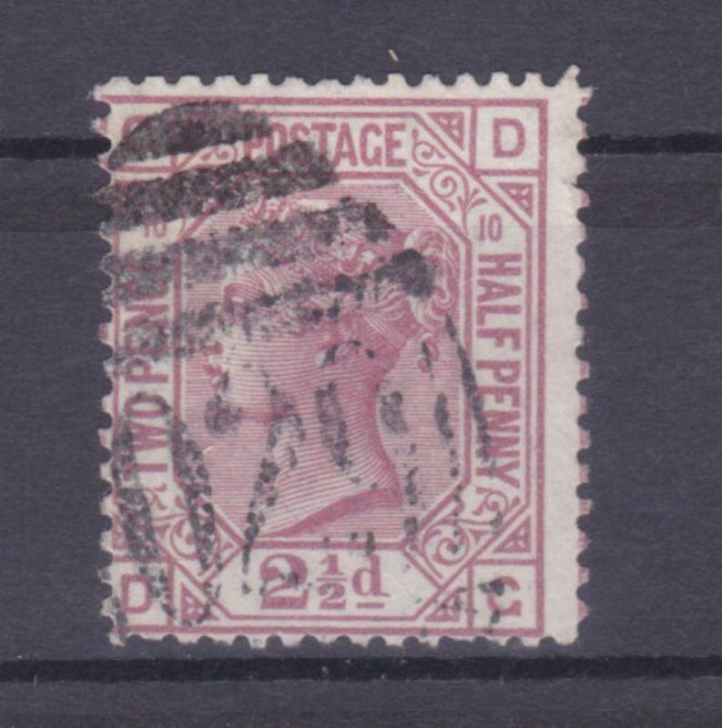 Königin Viktoria 2½ P. Platte 10
