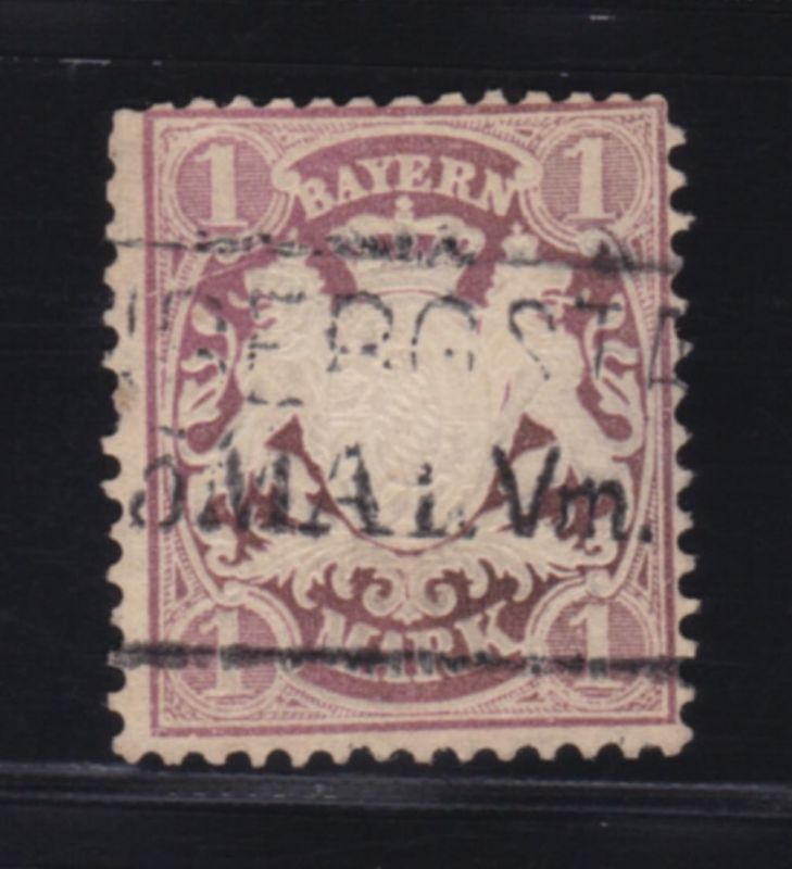 Wappen 1 Mark