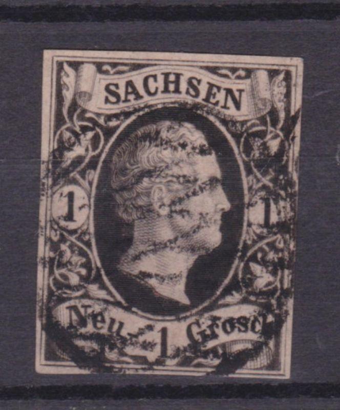 König Friedrich August II 1 Ngr.