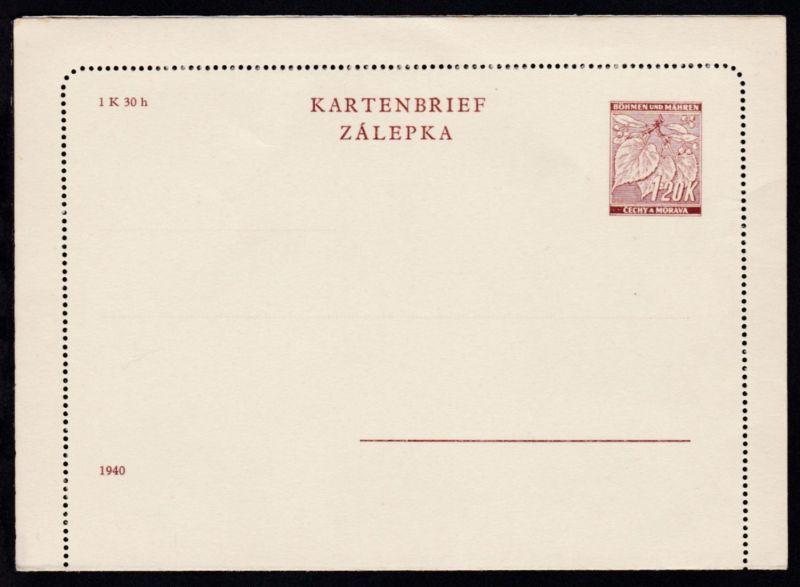 Lindenzweig Kartenbrief 1,20 K