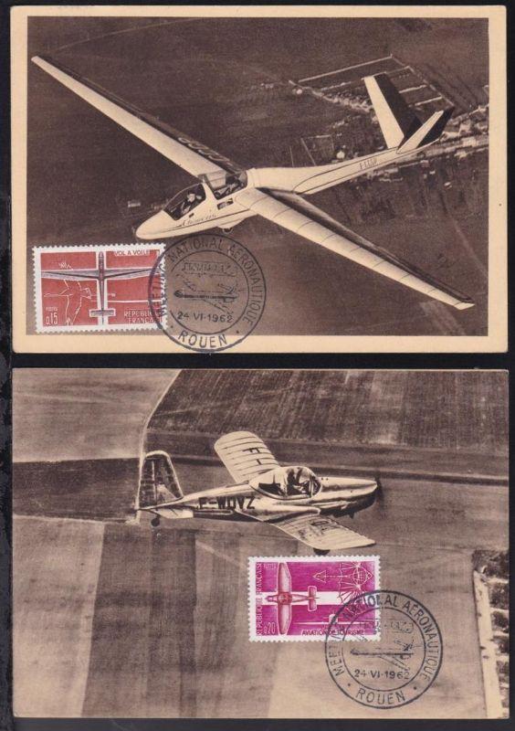 Sportfliegerei auf Maximumkarten