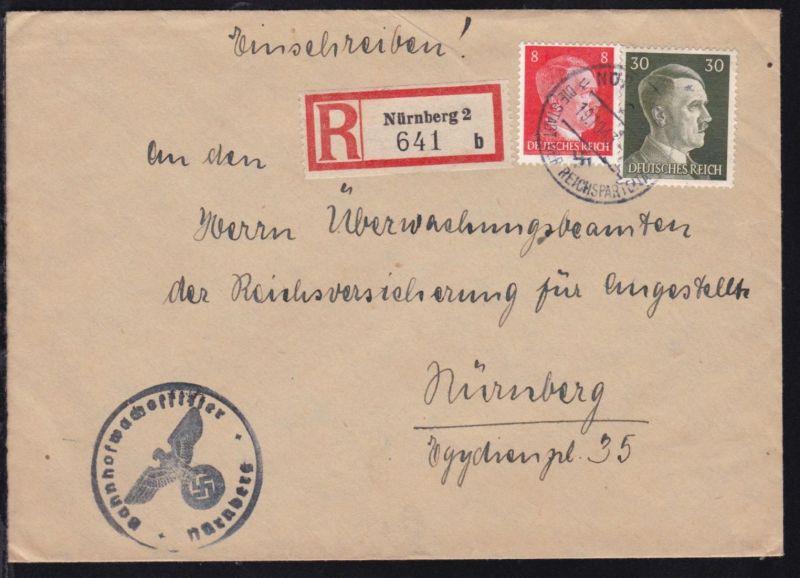 Nürnberg OSt. NÜRNBERG 2 DIE STADT DER REICHSPARTEI TAGE 19.10.43