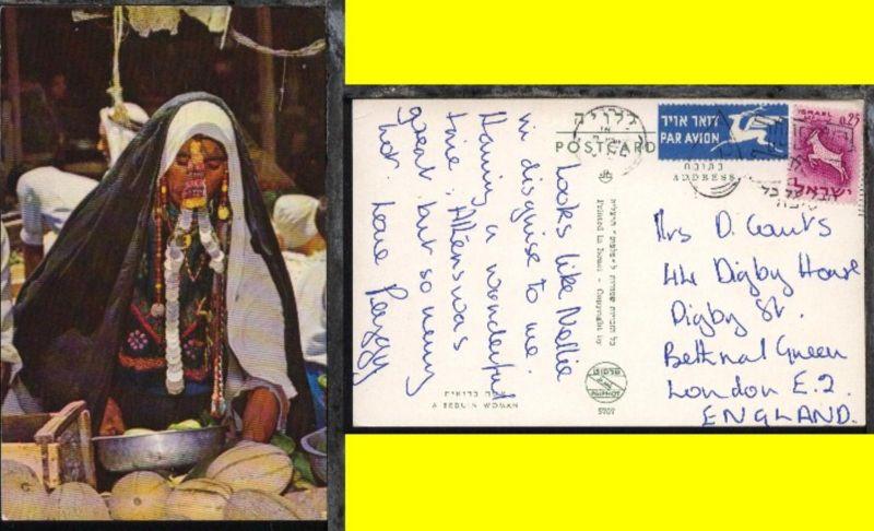 Steinbock auf CAK (Beduinenfrau) nach London