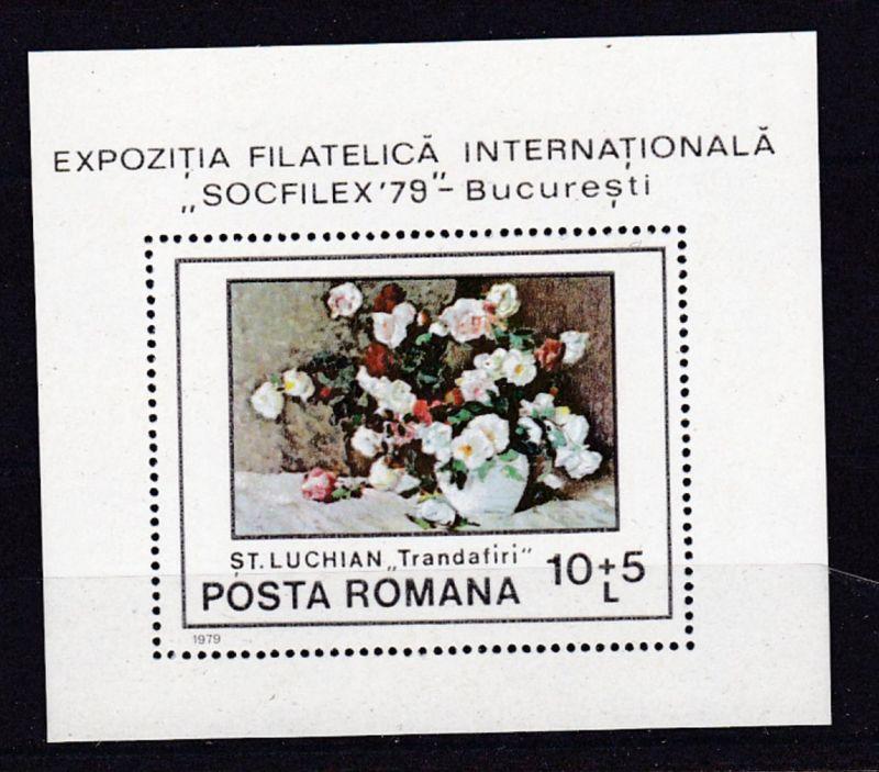 Internationale Briefmarkenausstellung SOZPHILEX 1979, Bukarest, Block **