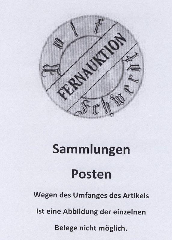DDR, 70 CAK überwiegend gebraucht, einige Mängel