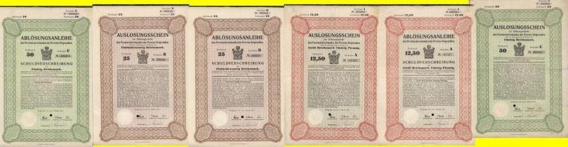 1927 Provinzialverband der Provinz Ostpreußen Königsberg