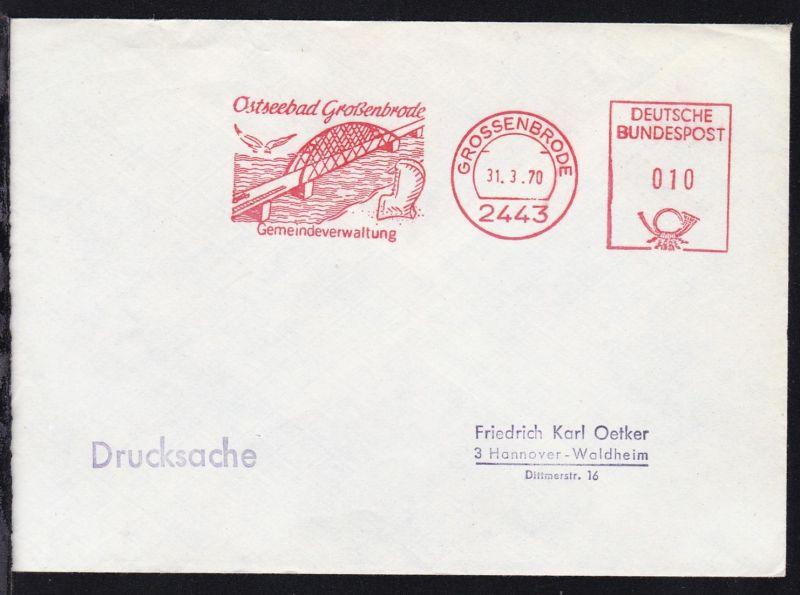 Grossenbrode AFS GROSSENBRODE 2443 31.3.70 Ostseebad Großenbrode 0