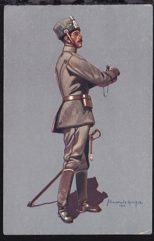 Stabsoffizier des 1. Leib-Husaren-Regiment Nr. 1 Danzig-Langfuhr,