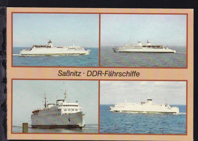 DDR-Fährschiffe (Rügen, Sassnitz, Warnemünde, Rostock)