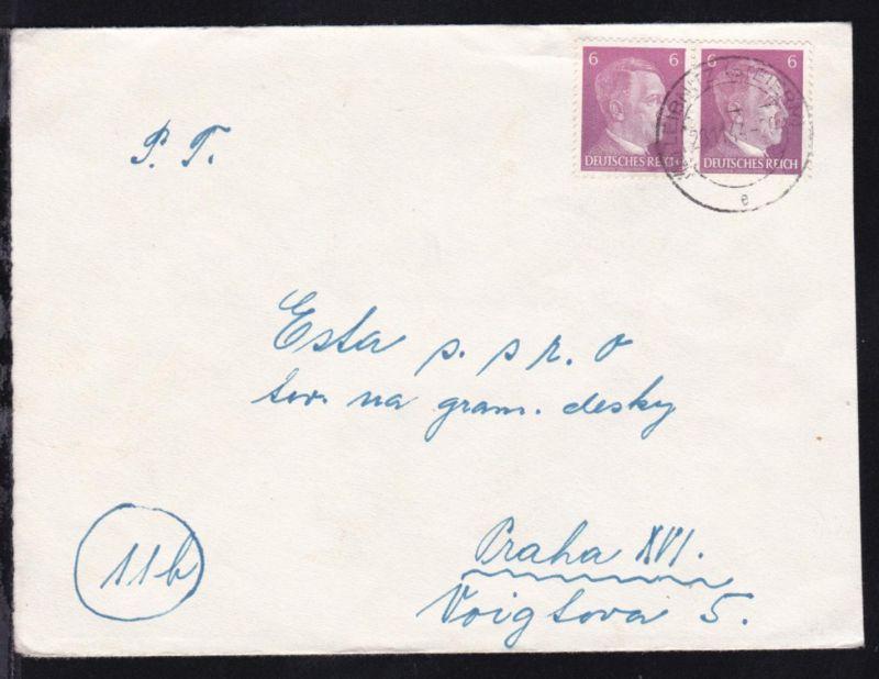 OSt. (12a) LEIBNITZ (STEIERM) e 28.11.44 auf Brief nach 11b Praha XVI