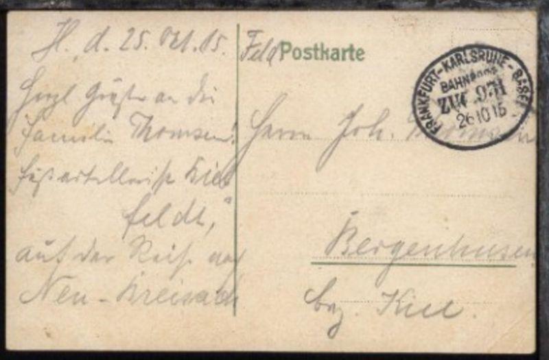 FRANKFURT-KARLSRUHE-BASEL ZUG 931 26.10.15 auf FP-CAK