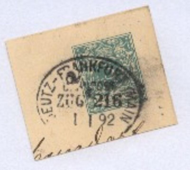 DEUTZ-FRANKFURT (MAIN) ZUG 208 17.3.91 auf GSK