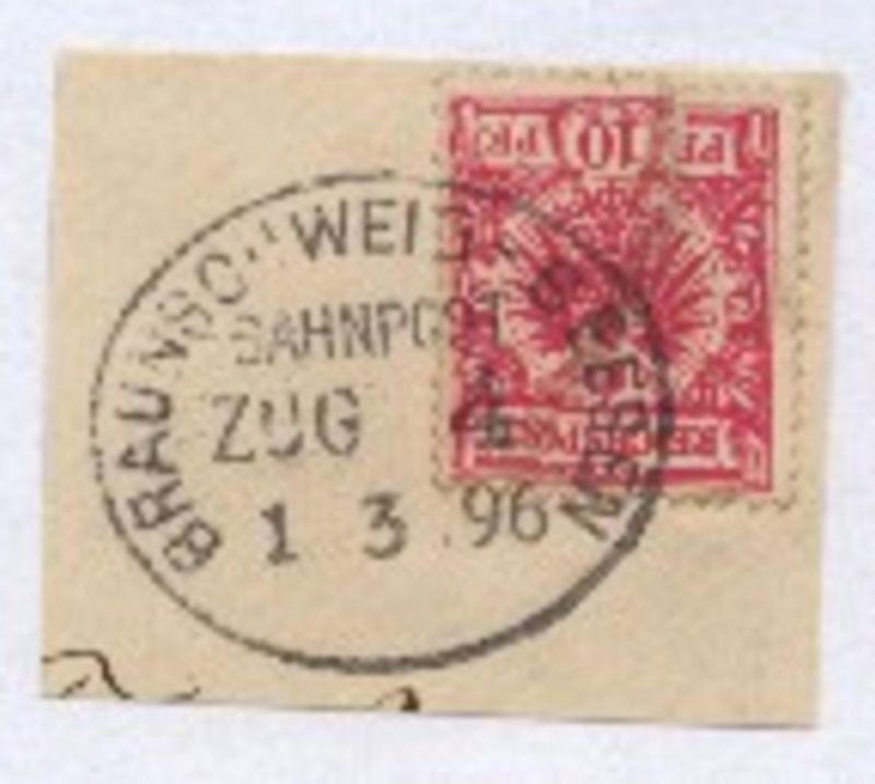 BRAUNSCHWEIG-SEESEN ZUG 4 1.3.96 auf Bf.-Stück