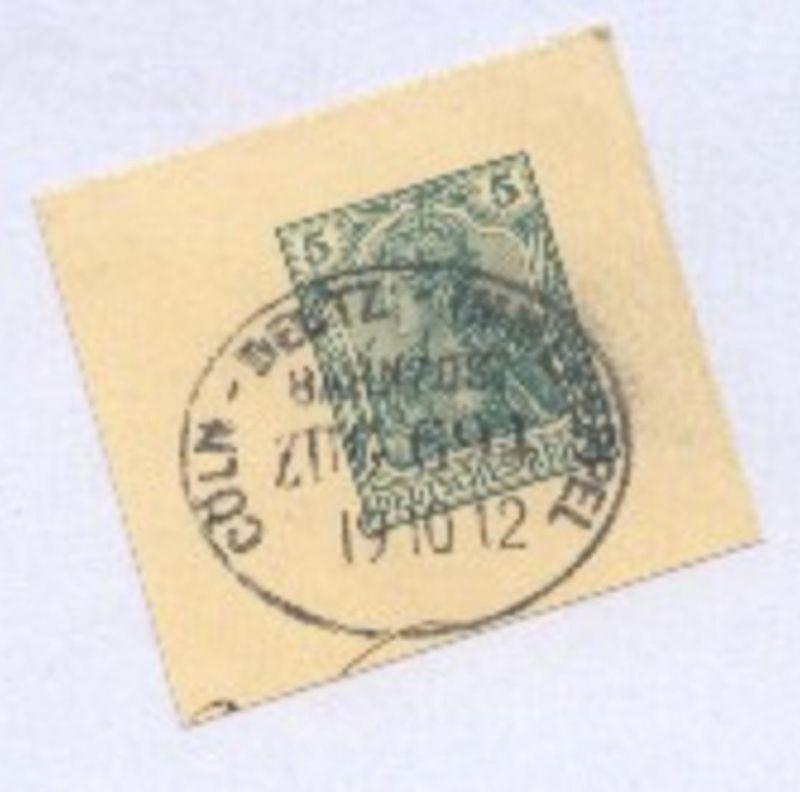 CÖLN-DEUTZ-IMMEKEPPEL ZUG 691 19.10.12 auf Bf.-Stück