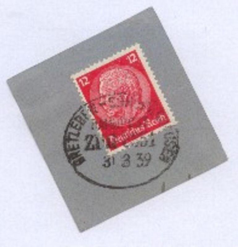 BRETLEBEN-SONDERSHAUSEN ZUG 3351 31.3.39 auf Bf.-Stück