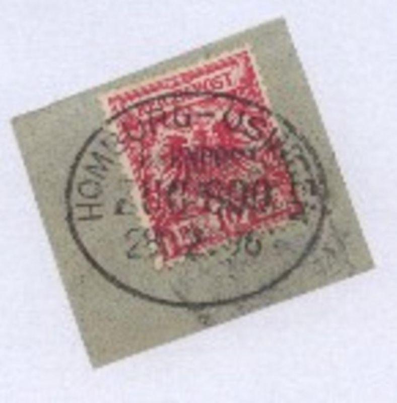 HOMBURG-USINGEN ZUG 800 28.12.96 auf Bf.-Stück